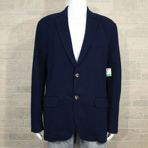 Club Room Classic Knit Sport Coat Blazer Jacket